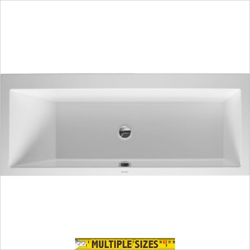 Duravit - Vero Single Ended Built In Bath - 1700 x 700mm - Left Hand