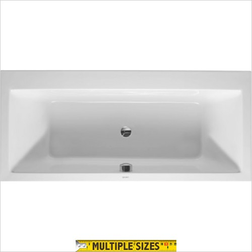Duravit - Vero Double Ended Built In Bath - 1800 x 800mm