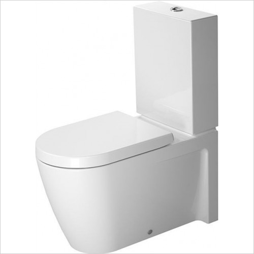 Duravit - Starck 2 Elongated Close Coupled Toilet