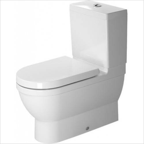 Duravit - Starck 3 705mm Projection Close Coupled Toilet