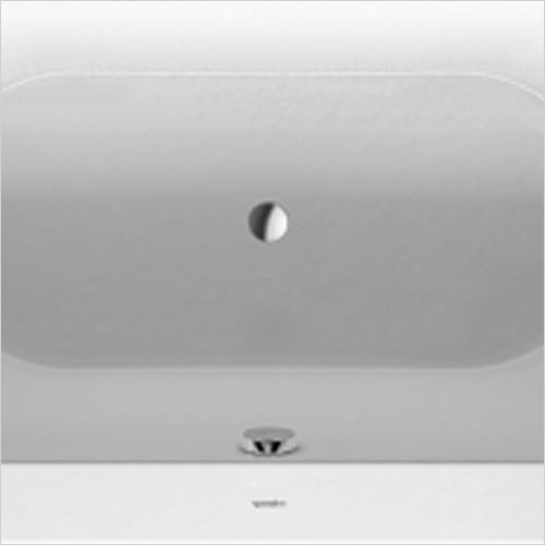 Duravit - New Darling Waste And Overflow Quadroval With Water Inlet